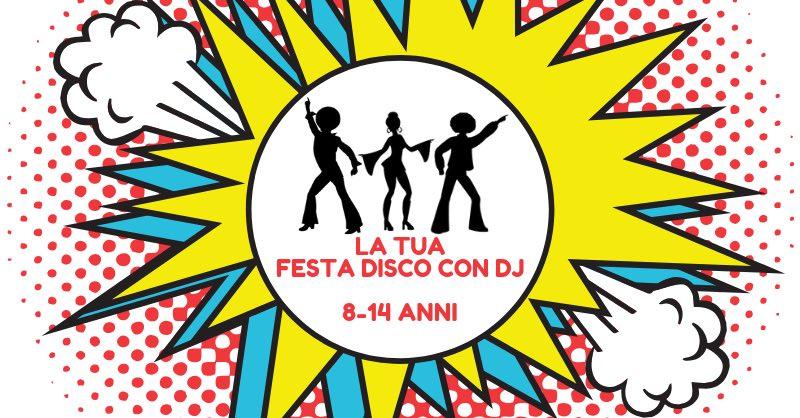 festa pizza disco dj milano